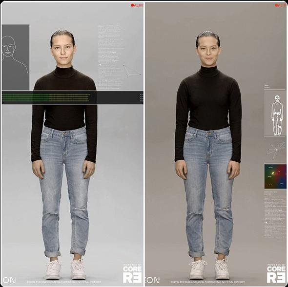 סמסונג בינה מלאכותית AI ניאון neon דיפ פייק, צילום מסך טוויטר