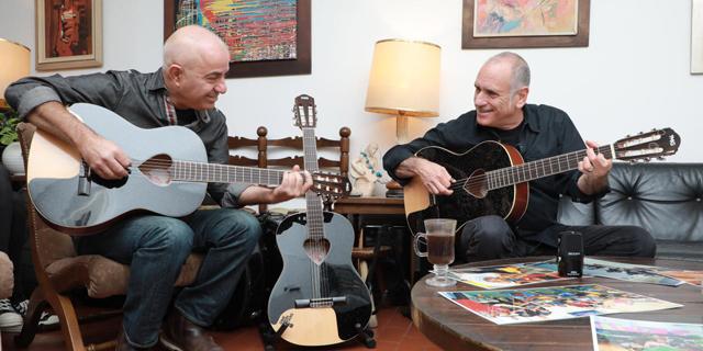 גיטרה עם לב: על העמותה של דויד ברוזה
