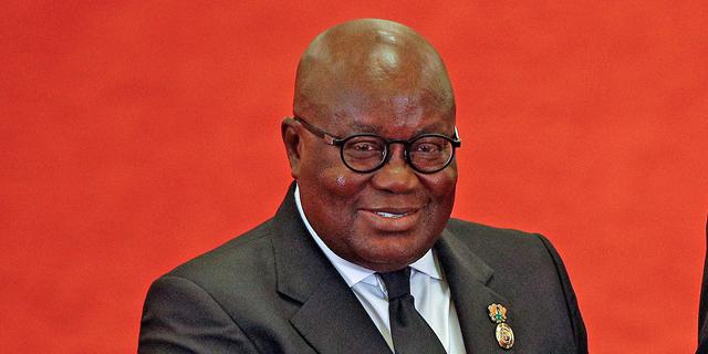נשיא גאנה ננה אקופו־אדו. החברות עדיין לא גלגלו את עליית המחירים, צילום: רויטרס
