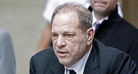הארווי וויינשטיין עוזב את בית המשפט ניו יורק 6.1.20, צילום: גטי אימג'ס