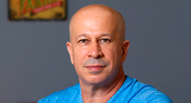 Payoneer co-founder Yuval Tal. Photo: Ron Rosenfeld