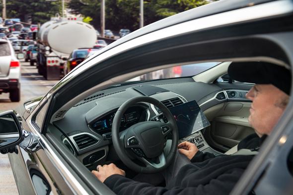 מכונית אוטונומית קוואלקום ride רכב אוטונומי, צילום: קוואלקום