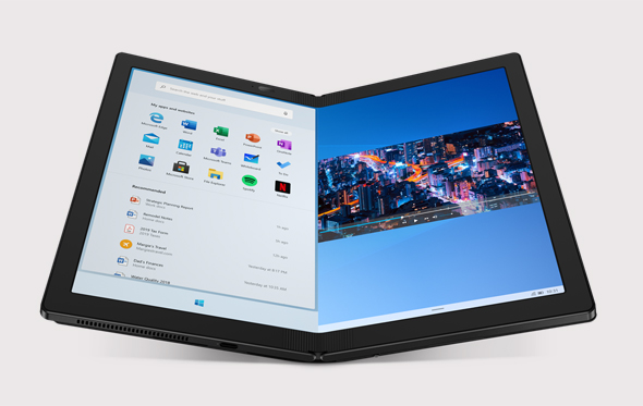 """לנובו מחשב נייד מתקפל פולד ThinkPad X1 Fold , צילום: יח""""צ לנובו"""