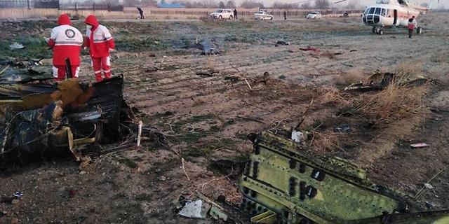 שש דקות לאחר ההמראה: מטוס אוקראיני התרסק באיראן, אין ניצולים