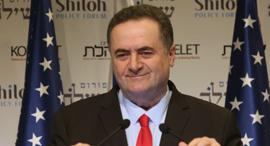 ישראל כץ וניר ברקת, צילום: מיכל פתאל
