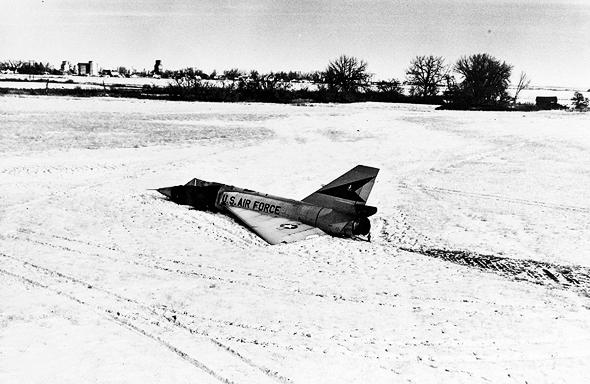 """המטוס כונה בתקשורת """"מפציץ שדה התירס"""". כן, למרות שאינו מפציץ ושזה לא שדה תירס"""