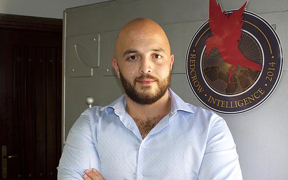 RedCrow co-founder Hussein Nasser Eddin. Photo: RedCrow