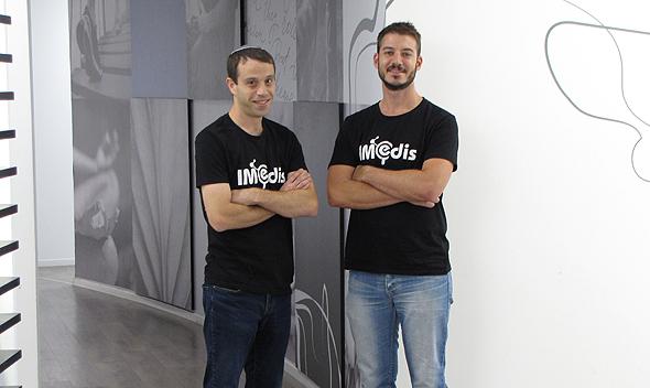 IMedis co-founders. Photo: IMedis