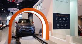 """חברת Uveye בדיקה לרכב CES 2020, צילום: יח""""צ"""