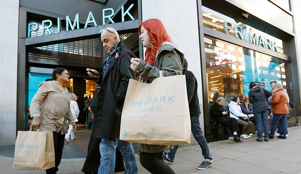 חנות פריימרק בלונדון