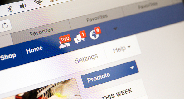 Advertising on Facebook. Photo: Shutterstock