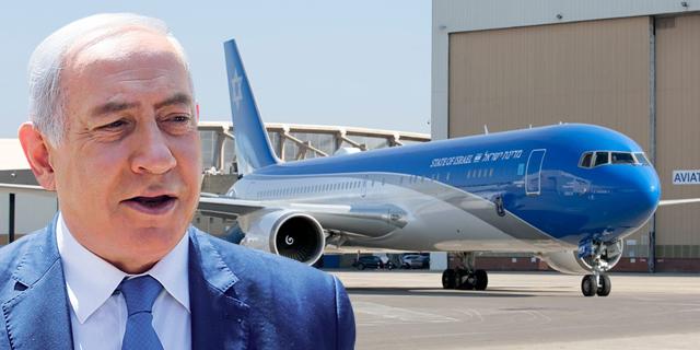 נתניהו ימנה מנהל למטוסו במאות אלפי שקלים לשנה