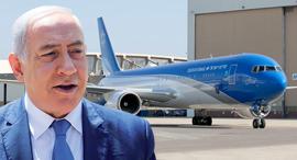מטוס ראש הממשלה בנימין נתניהו בואינג 767-300ER, צילום: התעשייה האווירית, עמית שאבי