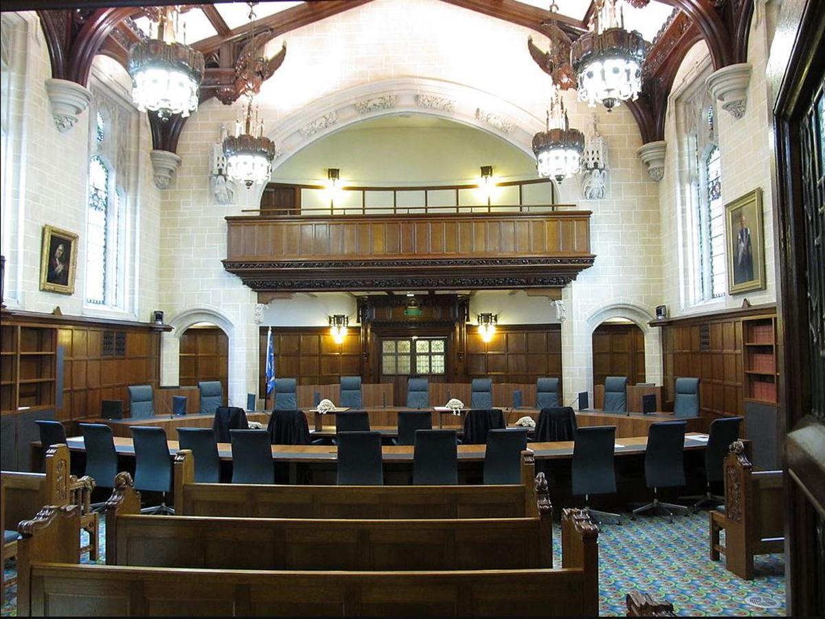 בית משפט בבריטניה , צילום: Rwendland/wikipedia