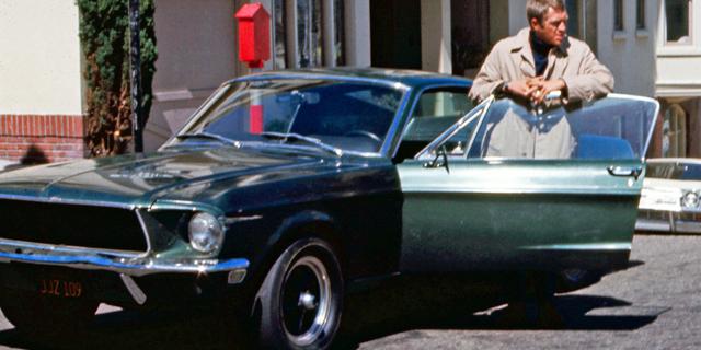 """הפורד מוסטנג של סטיב מקווין בסרט """"בוליט"""" נמכרה בסכום שיא של 3.4 מיליון דולר"""