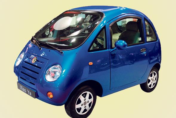 """המכונית הסינית שיאו יאו צ'יקה. 50 קמ""""ש וגימור גרוע"""
