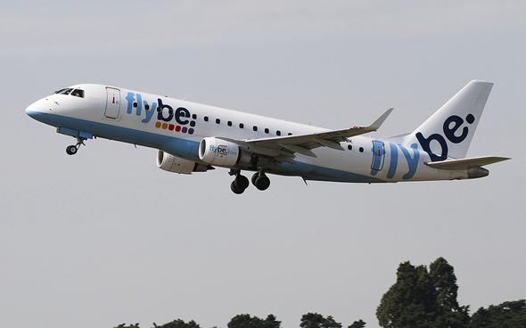 מטוס של חברת התעופה Flybe