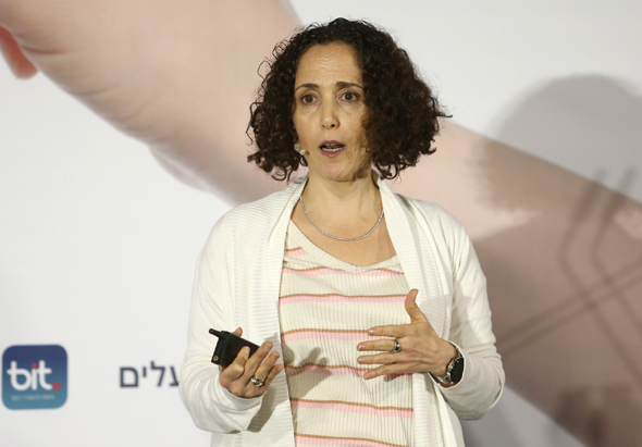 Ilanit Madmoni, head of innovation at the Bank of Israel. Photo: Orel Cohen
