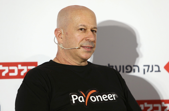 Founder and president of Payoneer Yuval Tal. Photo: Orel Cohen