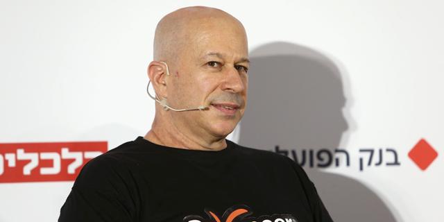 יובל טל מייסד פיוניר, היום בכנס, צילום: אוראל כהן