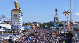 פוטו אתרים באירופה תיירותיים מדי מינכן Oktoberfest, צילום: שאטרסטוק
