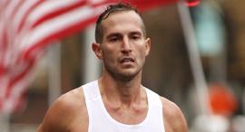 פנאי  מיטשל אמונס משתתף ב מרתון, צילום: flash frame