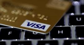 כרטיס אשראי ויזה פינטק, צילום: רויטרס