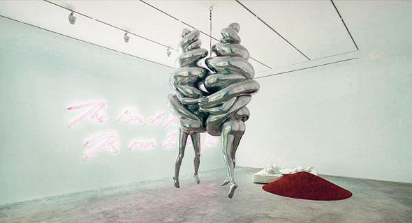 """""""הזוג"""" של לואיז בורז'ואה במוזיאון פורשו"""