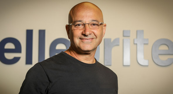 Yossi Carmil, Cellebrite co-CEO. Photo: Shlomi Yosef