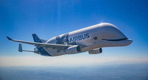 מטוס מטען בלוגה XL איירבוס ינואר 2020 1, צילום: Airbus