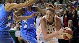 לורן ג'קסון, שחקנית WNBA, צילום: AP