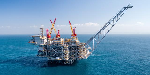 תקלה בהפקת הגז באסדת לווייתן, הלפיד הופעל