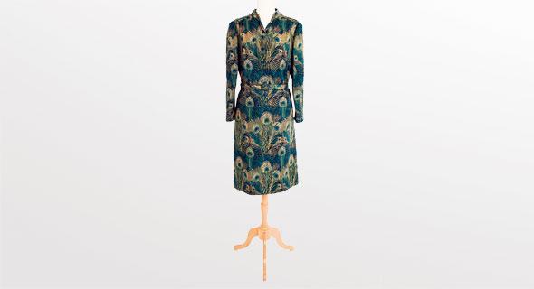 שמלת טווס של לולה בר. הזדמנות חד-פעמית , צילום: לי ברבו