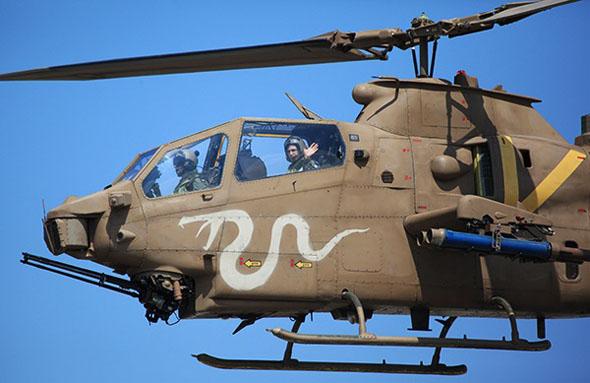 מסוק קוברה של חיל האוויר הישראלי