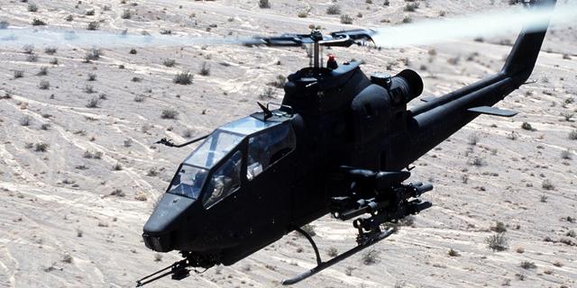 קוברה מסוק קרב הקברניט, צילום: USAF