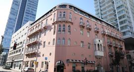 בניין מלון פלטין בתל אביב, צילום: עזרא לוי