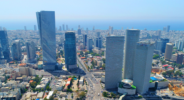 The Azrieli Center in Tel Aviv. Photo: Shutterstock