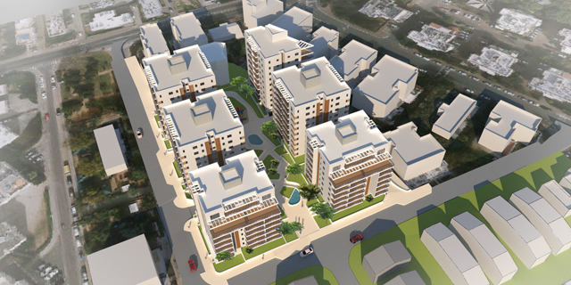 אושרה להפקדה: תוכנית פינוי בינוי לכ-200 דירות במתחם הכוזרי בהרצליה