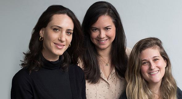 """בעלות """"קומפלט"""" מימין: סיון מושקוביץ זיו, אמילי וייט מרידור וליאונורה פורר אגמון. """"משקיעים גברים אמרו לנו: 'אנחנו מבינים בהייטק'"""""""