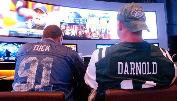 """הימורי ספורט בארה""""ב, צילום: איי פי"""