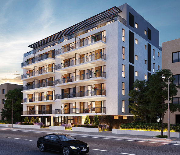 דירות במפרט טכני יוקרתי, מרפסות שמש רחבות ידיים, לובי מרשים וחניון לכל דיירי הבניין, הדמיה: Arc-deco