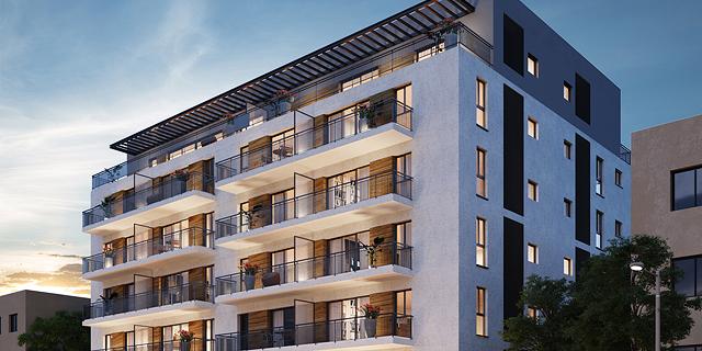 פרויקט הריסה ובניה חדש במרכז תל אביב יוצא לשיווק