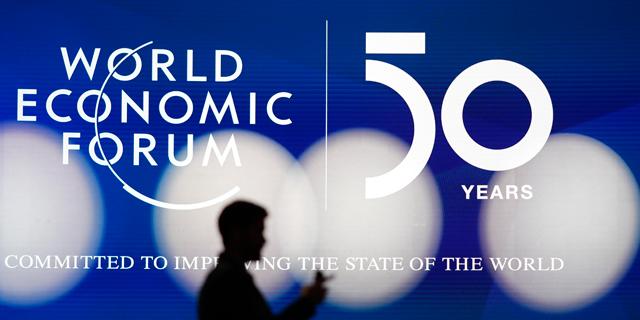 כינוס הפורום הכלכלי העולמי בדאבוס. חוגג 50, צילום: איי אף פי