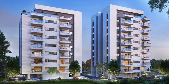 דירה להשכיר רכשה שני פרויקטים בנהריה וכפר יונה ב-159 מיליון שקל