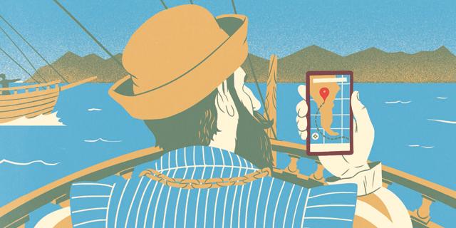אפליקציות הניווט משרטטות את המפה העולמית מחדש