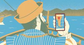 המלחמה על התודעה נקבעת בגוגל Maps, איור: יונתן פופר