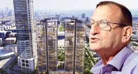 """ראש עיריית ת""""א רון חולדאי על רקע פרסום החוצות של גינדי לפרויקט Upperhouse , צילום: אתר החברה, עמית שעל"""