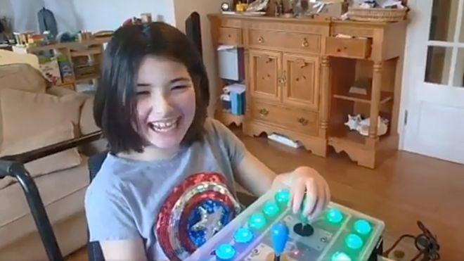 הבת המוגבלת בתנועה רצתה לשחק בנינטנדו - אביה סיפק את הסחורה