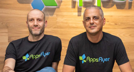 AppsFlyer Co-Founders Reshef Mann (left) and Oren Kaniel. Photo: AppsFlyer