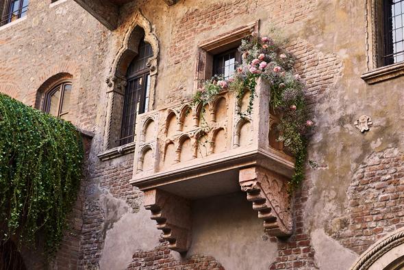 Airbnb הבית של יוליה רומיאו ורונה איטליה ולנטיין 1, צילום: Airbnb